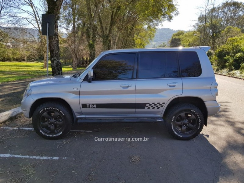 pajero tr4 2.0 4x4 16v 131cv gasolina 4p manual 2007 feliz