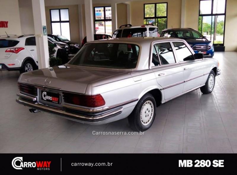 280 SE 2.8 6 CILINDROS GASOLINA 4P MANUAL - 1974 - FELIZ