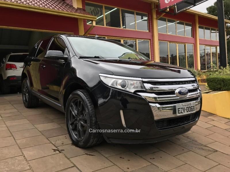 edge 3.5 limited awd v6 24v gasolina 4p automatico 2013 nova petropolis