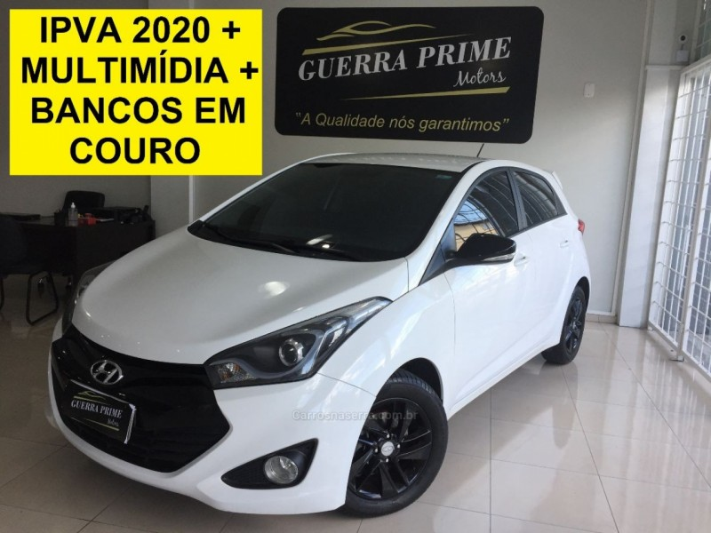 hb20 1.6 premium 16v flex 4p manual 2013 caxias do sul