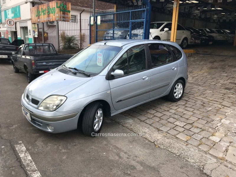 scenic 1.6 privilege 16v flex 4p manual 2005 caxias do sul