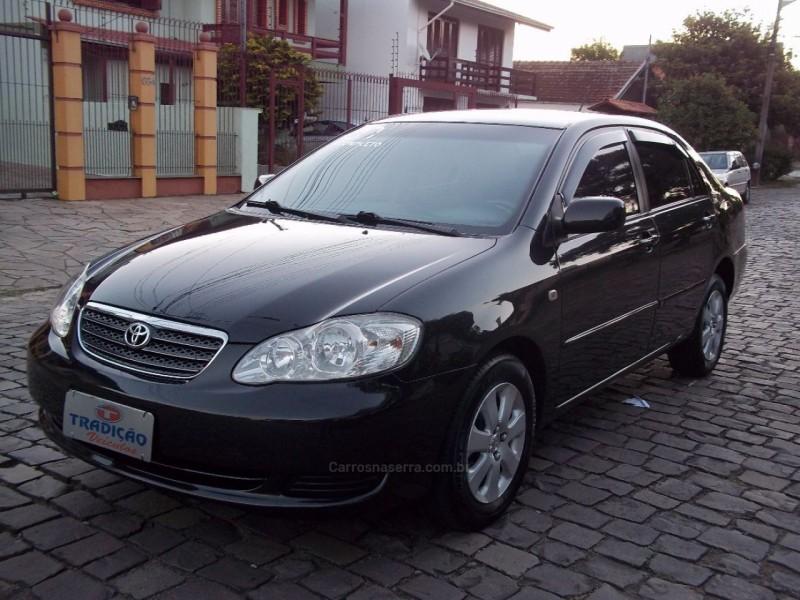 corolla 1.8 xei 16v gasolina 4p automatico 2007 caxias do sul