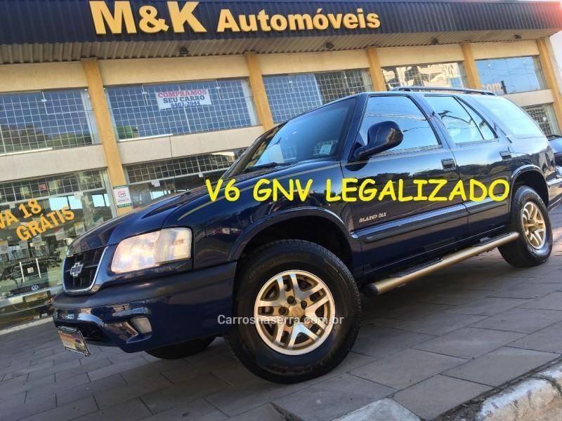 blazer 4.3 sfi dlx 4x2 v6 12v gasolina 4p manual 2000 caxias do sul