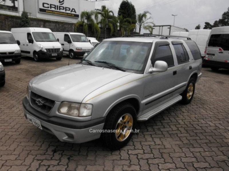 blazer 2.5 dlx 4x2 8v turbo diesel 4p manual 1999 farroupilha
