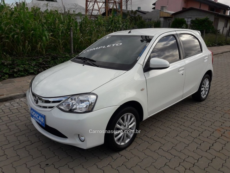 etios 1.5 xls 16v flex 4p manual 2014 caxias do sul