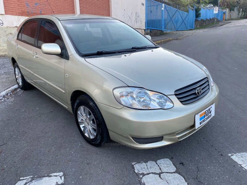 corolla 1.6 xli 16v gasolina 4p manual 2004 caxias do sul