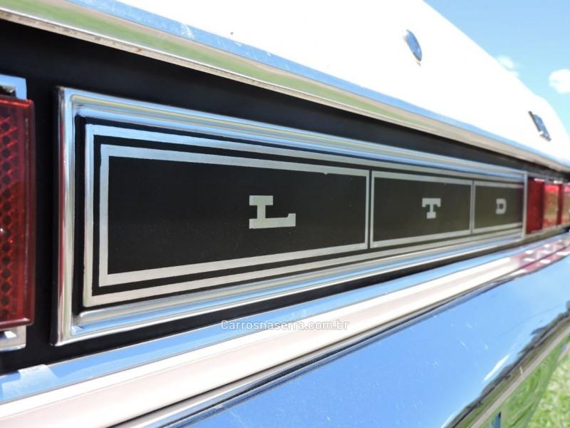 GALAXIE 5.0 LTD V8 16V GASOLINA 4P MANUAL - 1979 - SãO MARCOS