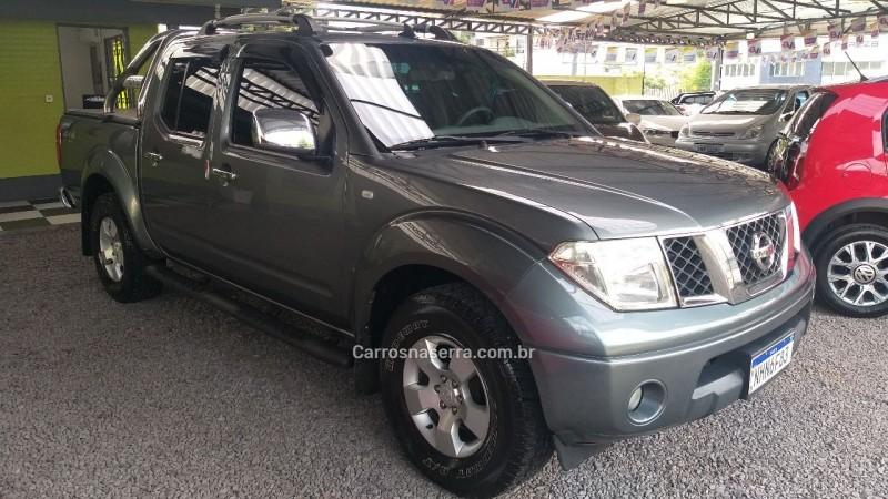 FRONTIER 2.5 SEL 4X4 CD TURBO ELETRONIC DIESEL 4P AUTOMÁTICO - 2008 - CAXIAS DO SUL