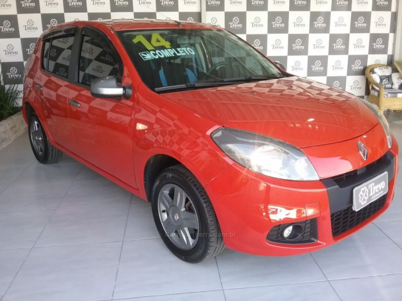 sandero 1.0 tech run 16v flex 4p manual 2014 taquara