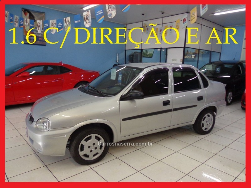 corsa 1.6 mpfi classic sedan 8v gasolina 4p manual 2005 caxias do sul