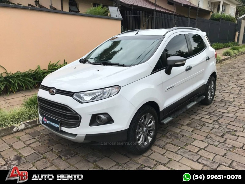 ecosport 1.6 freestyle 16v flex 4p manual 2014 bento goncalves