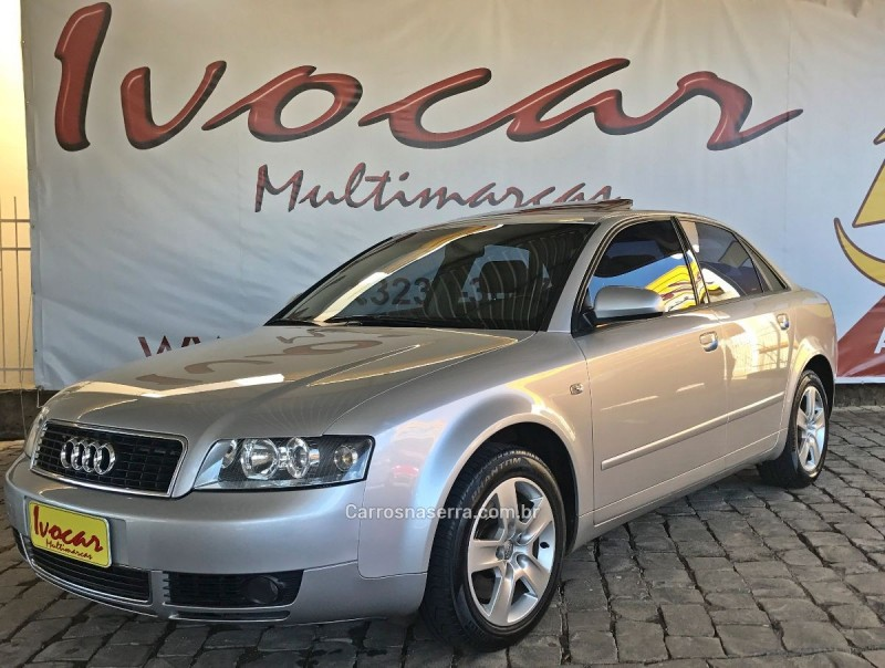 A4 2.4 V6 30V GASOLINA 4P TIPTRONIC - 2003 - VACARIA