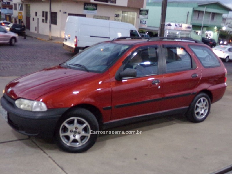 palio 1.0 mpi 6m weekend 8v gasolina 4p manual 2000 caxias do sul