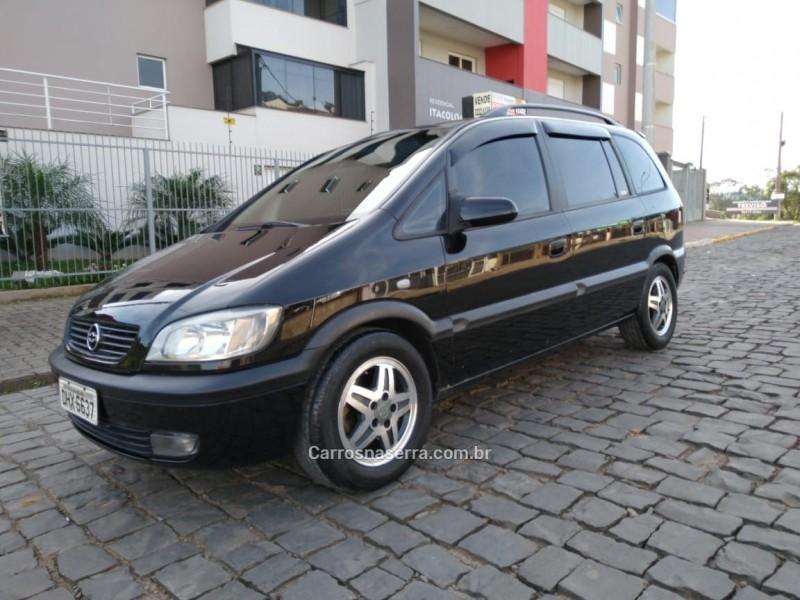 zafira 2.0 mpfi cd 8v gasolina 4p automatico 2003 caxias do sul