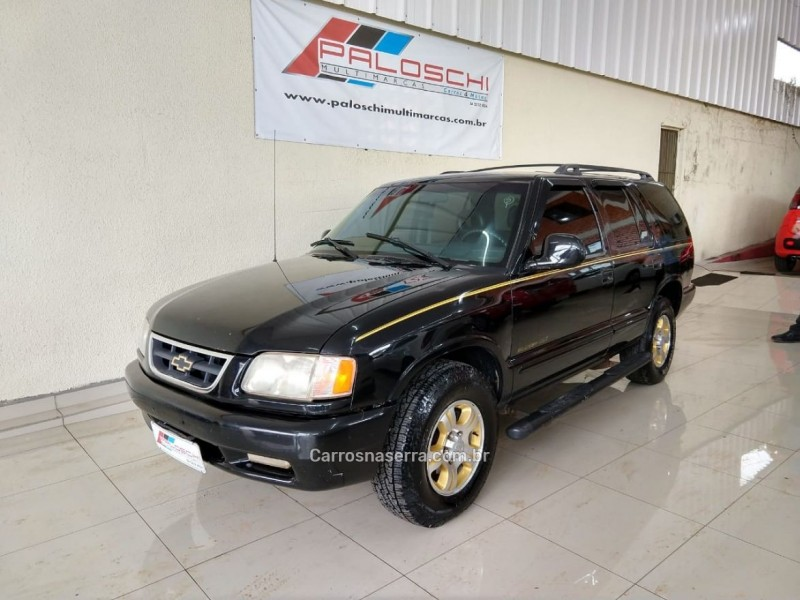 blazer 4.3 sfi dlx executive 4x2 v6 12v gasolina 4p manual 1998 vacaria