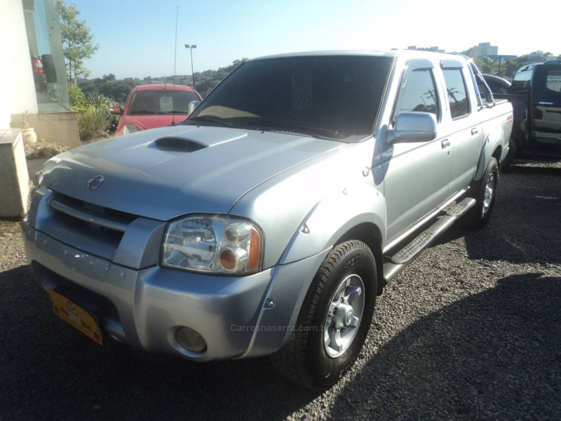 FRONTIER 2.8 XE 4X4 CD TURBO ELETRONIC DIESEL 4P MANUAL - 2005 - FARROUPILHA