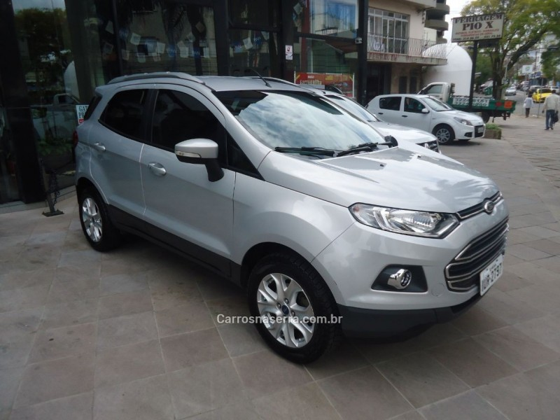 ecosport 1.6 titanium 16v flex 4p manual 2014 caxias do sul