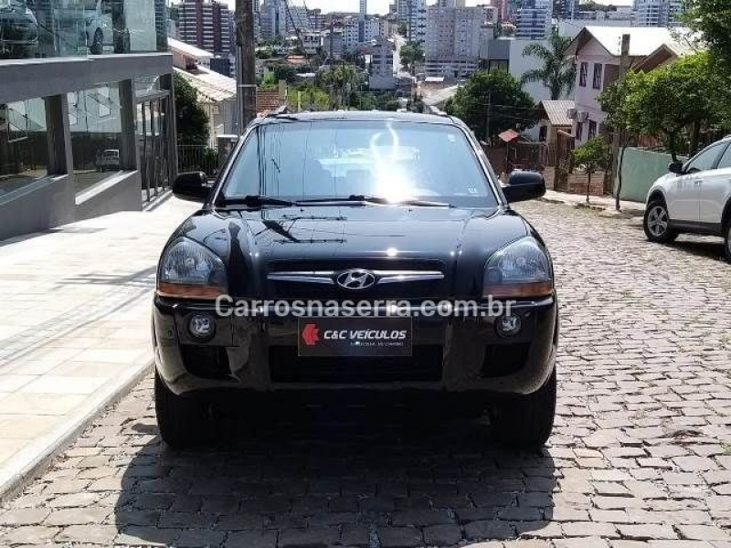 tucson 2.0 mpfi gls 16v 143cv 2wd gasolina 4p automatico 2010 bento goncalves
