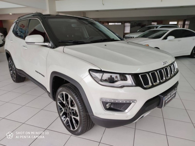 compass 2.0 16v diesel limited 4x4 automatico 2020 caxias do sul