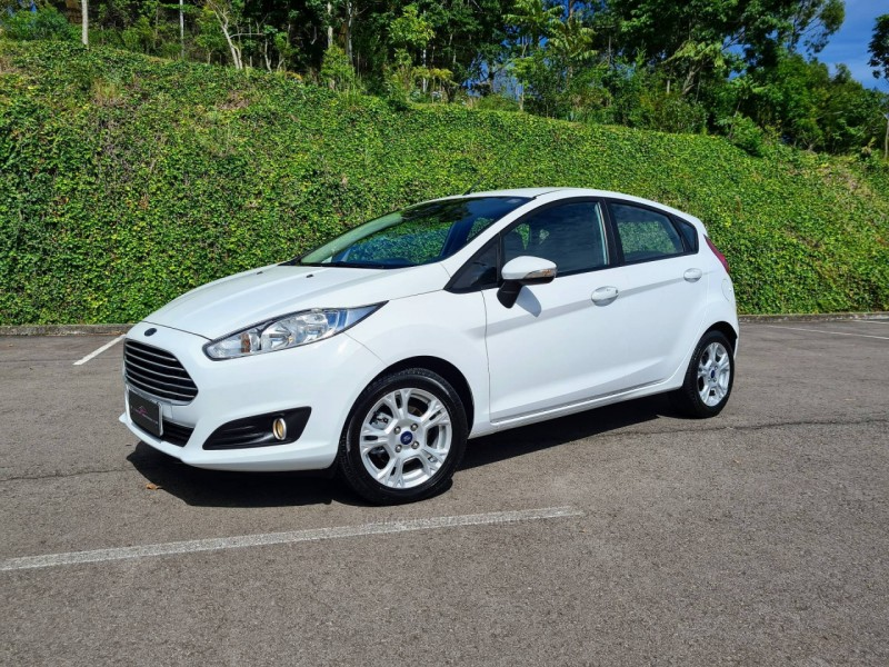 fiesta 1.6 sel hatch 16v flex 4p powershift 2014 bento goncalves