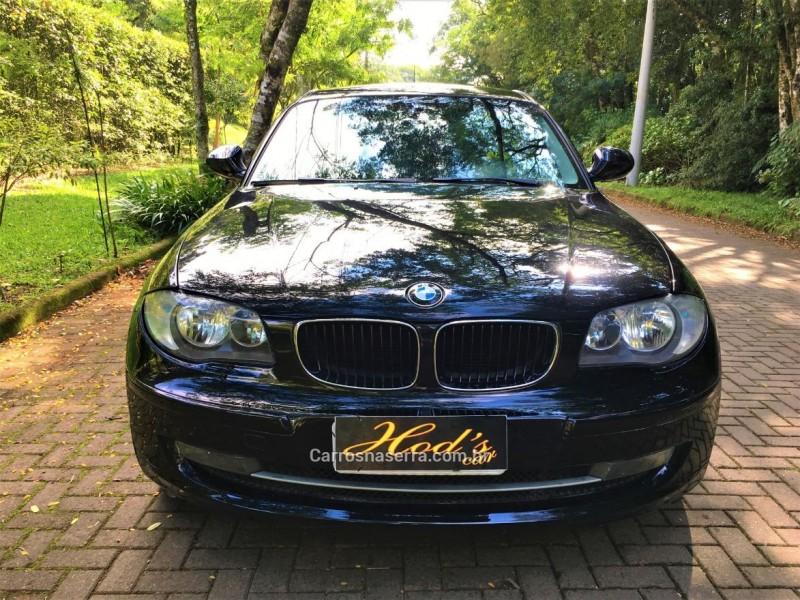 118i 2.0 top hatch 16v gasolina 4p automatico 2012 canela