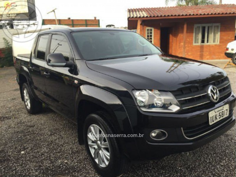 amarok 2.0 highline 4x4 cd 16v turbo intercooler diesel 4p automatico 2013 caxias do sul