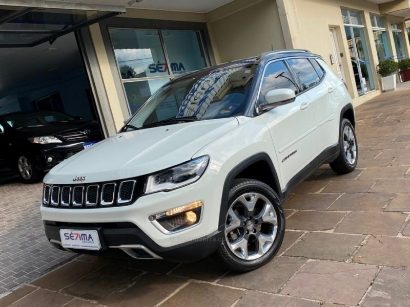 compass 2.0 16v diesel limited 4x4 automatico 2018 guapore