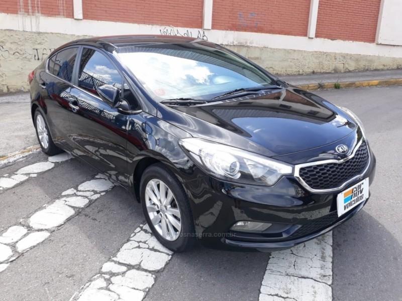 cerato 1.6 ex2 sedan 16v gasolina 4p automatico 2014 caxias do sul
