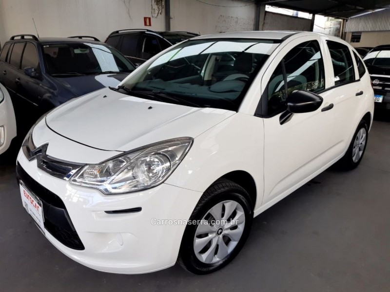 C3 1.5 ORIGINE 8V FLEX 4P MANUAL - 2015 - CAXIAS DO SUL