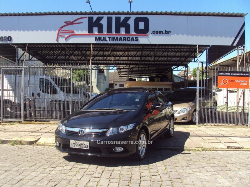 civic 1.7 exs 16v gasolina 4p automatico 2013 caxias do sul