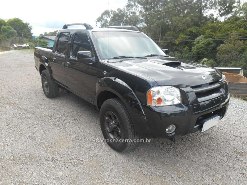frontier 2.8 xe attack 4x2 cd turbo eletronic diesel 4p manual 2003 caxias do sul