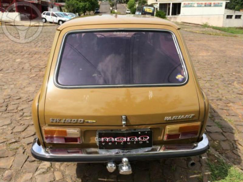 VARIANT 1.6 8V GASOLINA 2P MANUAL - 1976 - GUAPORé