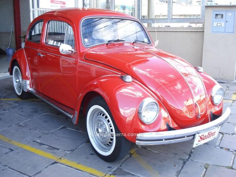 FUSCA 1.3 L 8V GASOLINA 2P MANUAL - 1975 - BENTO GONçALVES