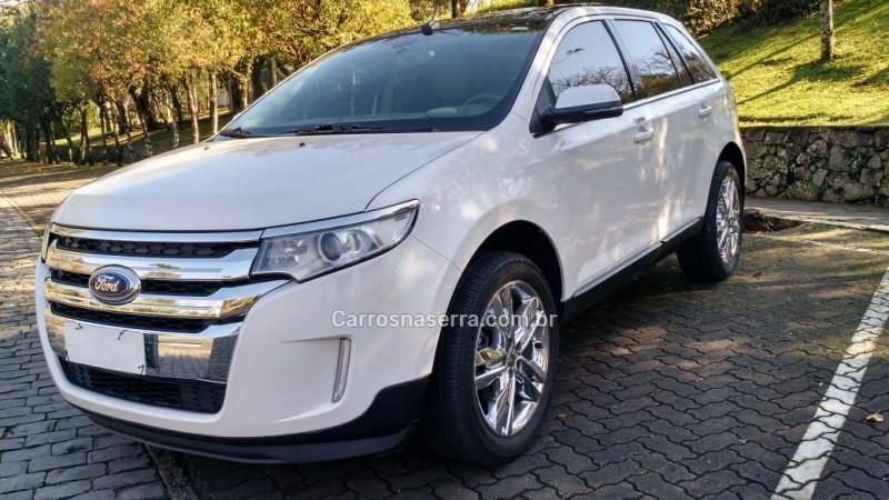 edge 3.5 limited awd v6 24v gasolina 4p automatico 2013 caxias do sul