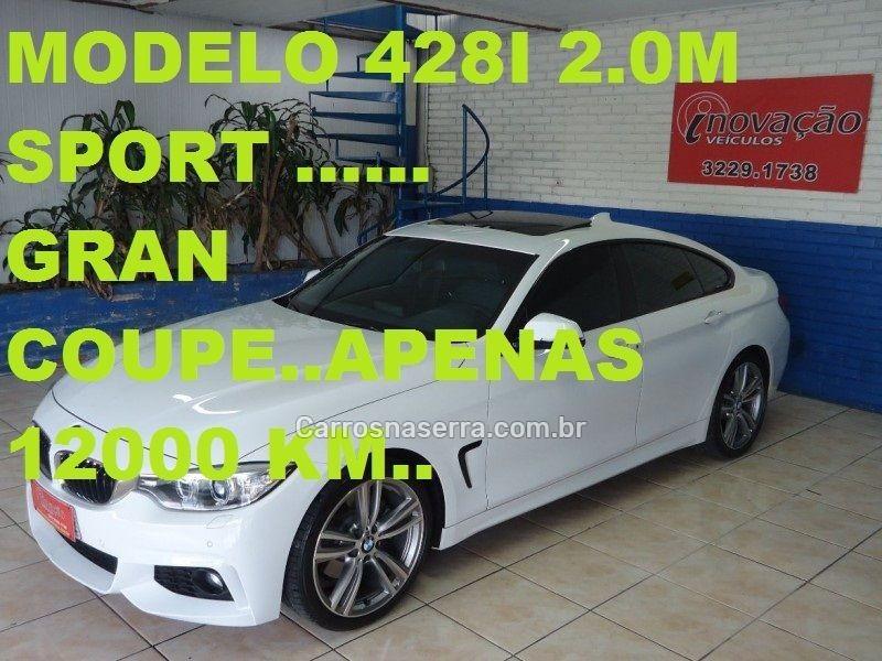 428i 2.0 m sport gran coupe 16v turbo gasolina 4p automatico 2015 caxias do sul