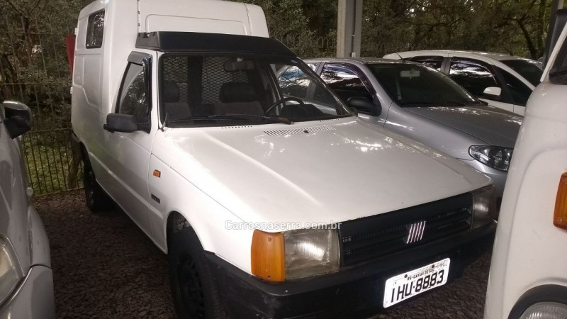 fiorino 1.5 ie furgao 8v gasolina 2p manual 1990 caxias do sul