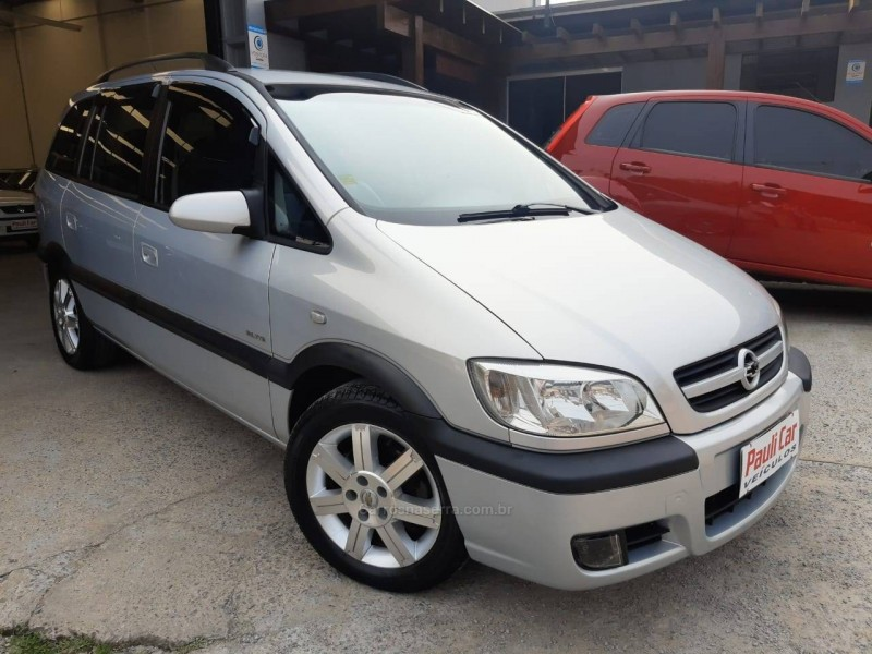 zafira 2.0 mpfi elite 16v gasolina 4p manual 2005 caxias do sul