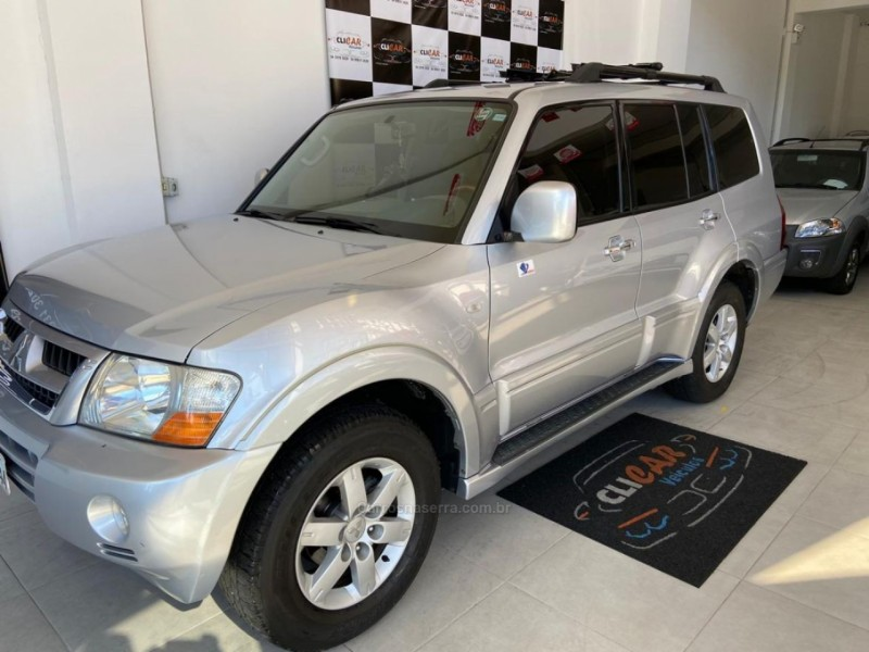pajero full 3.2 gls 4x4 16v turbo intercooler diesel 4p automatico 2007 caxias do sul