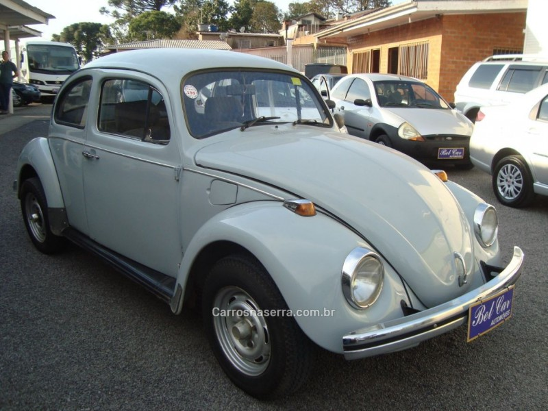 fusca 1.3 8v gasolina 2p manual 1981 caxias do sul