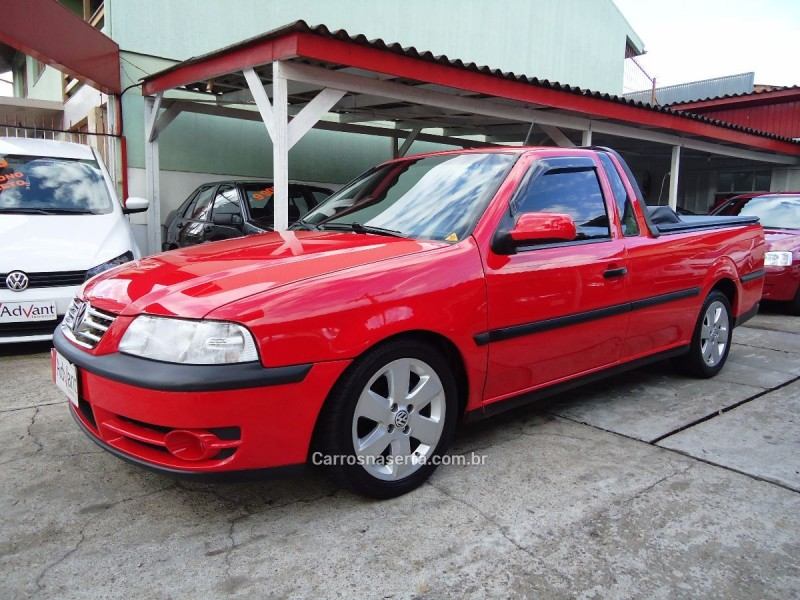 saveiro 1.6 mi super surf cs 8v flex 2p manual g.iii 2005 caxias do sul