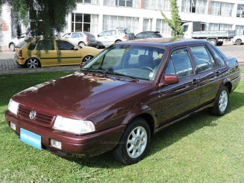 santana 2.0 gl 8v gasolina 4p manual 1995 sao marcos
