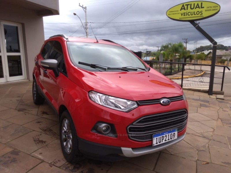 ecosport 1.6 freestyle 16v flex 4p manual 2014 vista alegre do prata