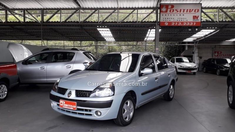 clio 1.6 privilege sedan 16v gasolina 4p manual 2003 caxias do sul