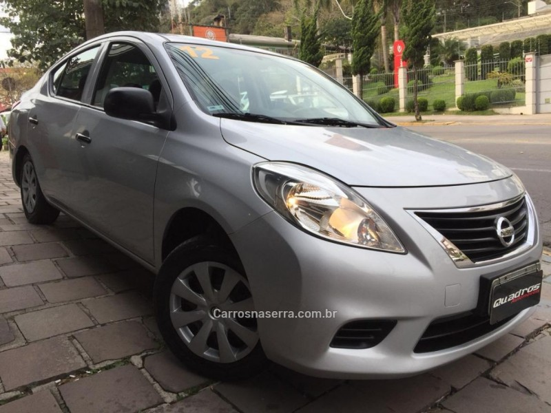 versa 1.6 16v flex s 4p manual 2012 caxias do sul