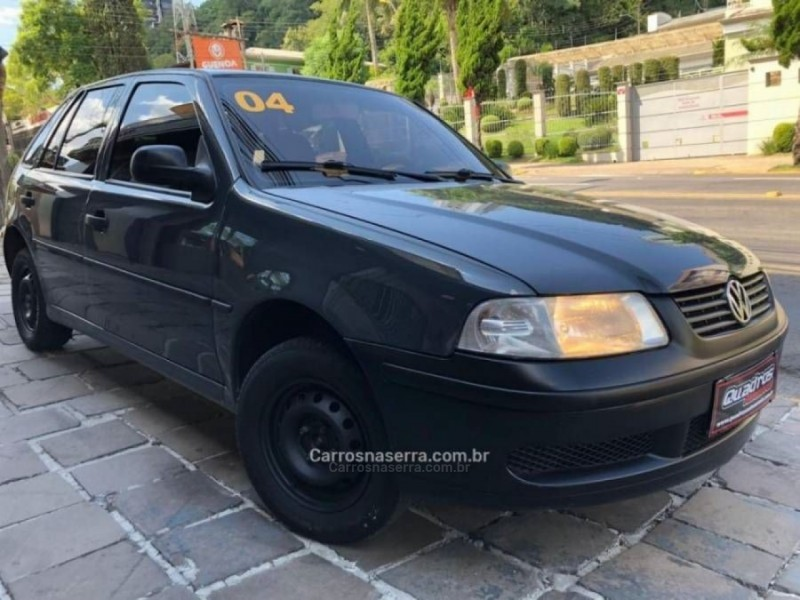 gol 1.0 mi city 8v gasolina 4p manual g.iii 2004 caxias do sul