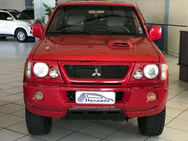 l200 2.5 gls 4x4 cd 8v turbo diesel 4p manual 2002 caxias do sul