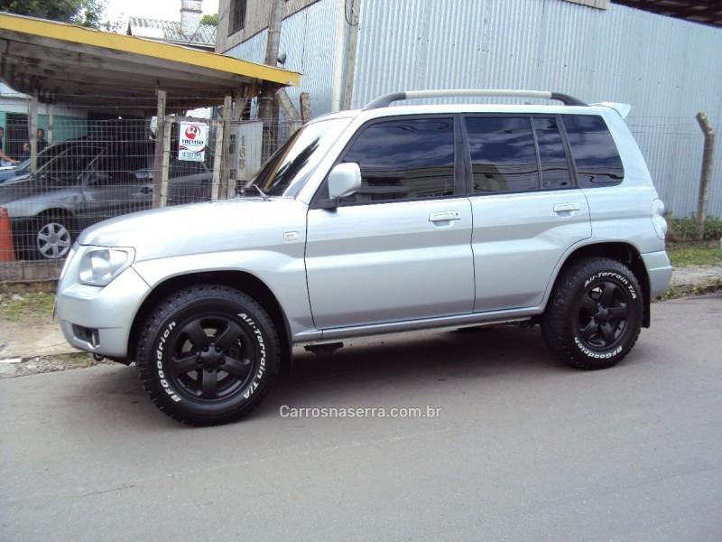 pajero tr4 2.0 4x4 16v flex 4p manual 2009 caxias do sul