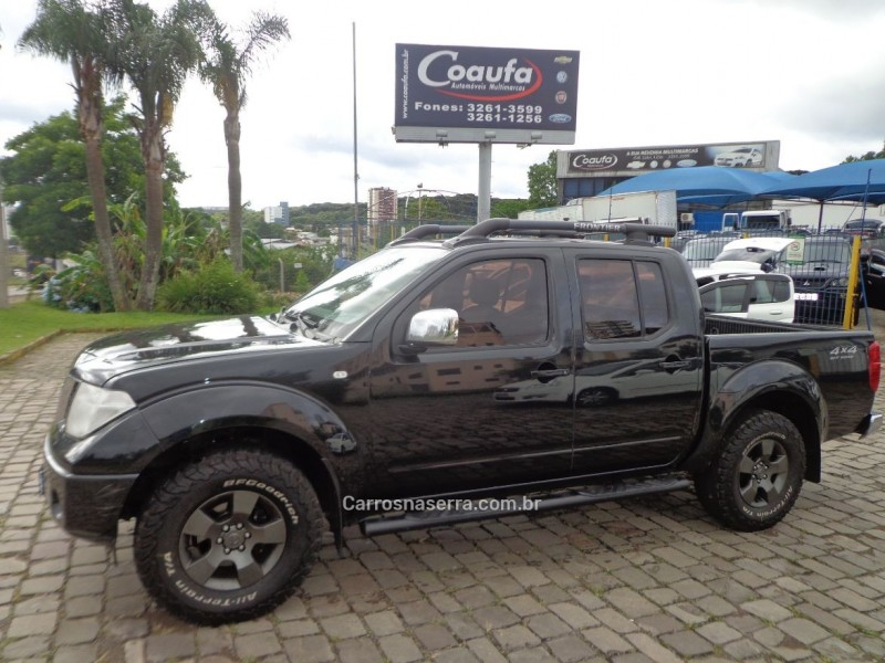 frontier 2.5 le 4x4 cd turbo eletronic diesel 4p automatico 2013 farroupilha