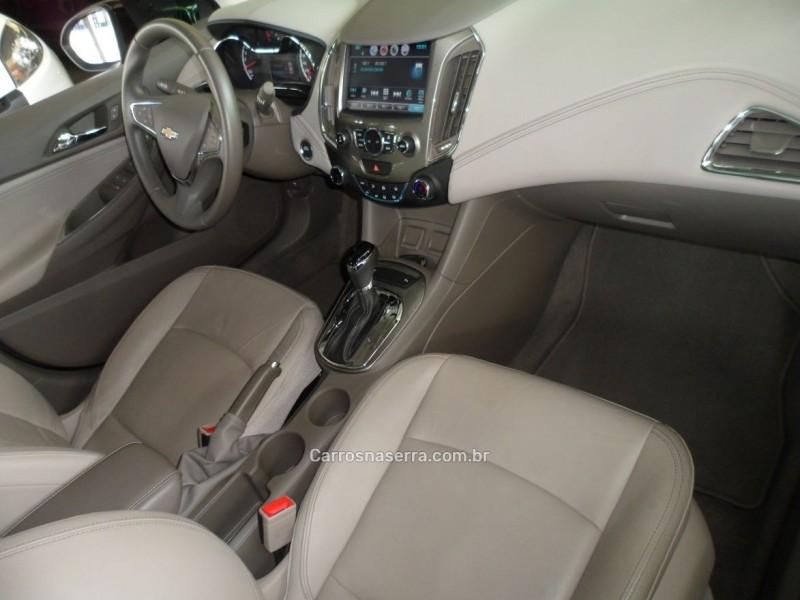 CRUZE 1.4 TURBO LTZ 16V FLEX 4P AUTOMÁTICO - 2017 - FARROUPILHA