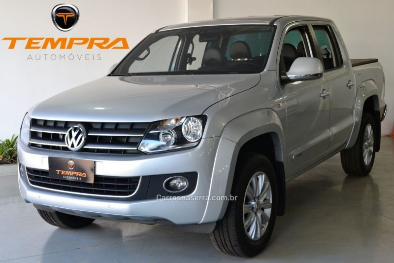 amarok 2.0 highline 4x4 cd 16v turbo intercooler diesel 4p automatico 2014 passo fundo